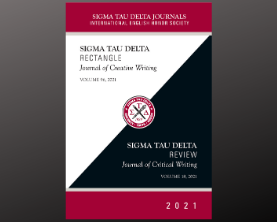 Sigma Tau Delta 2021 Journals Now Available