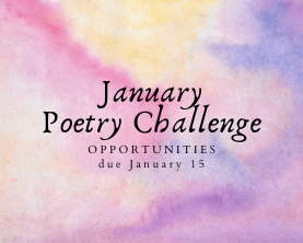 January Poetry Challenge